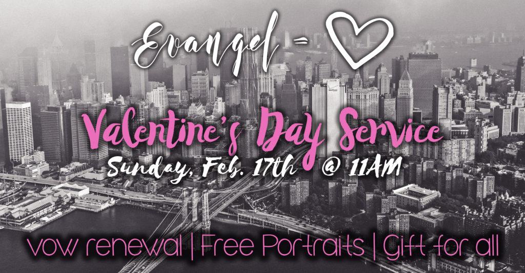 Evangel Valentine's Day Service 960x500